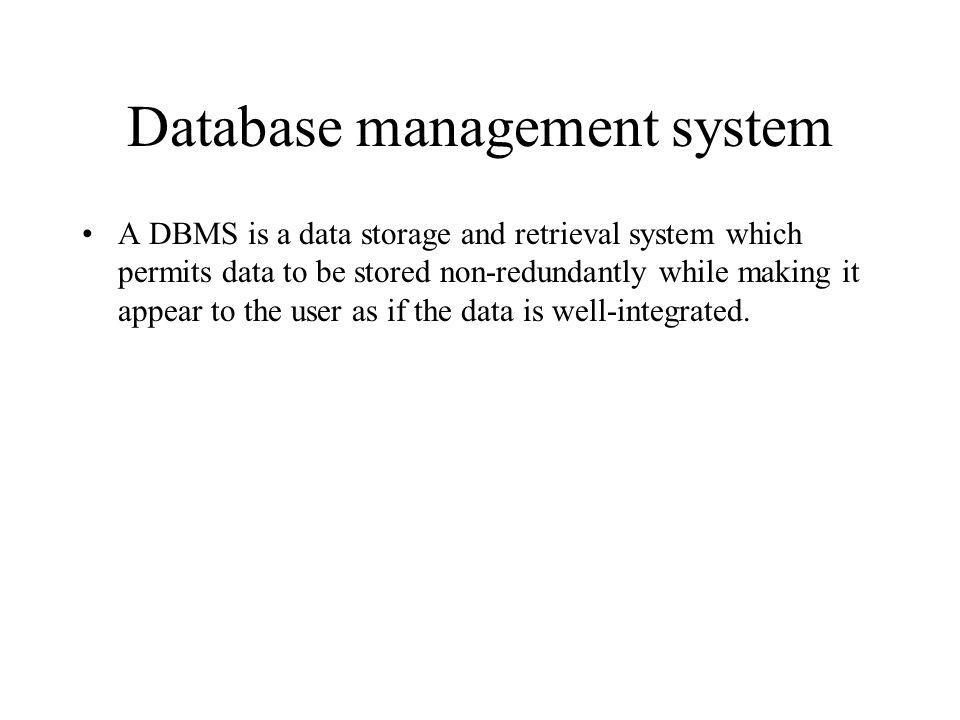 Evolution of database technologies