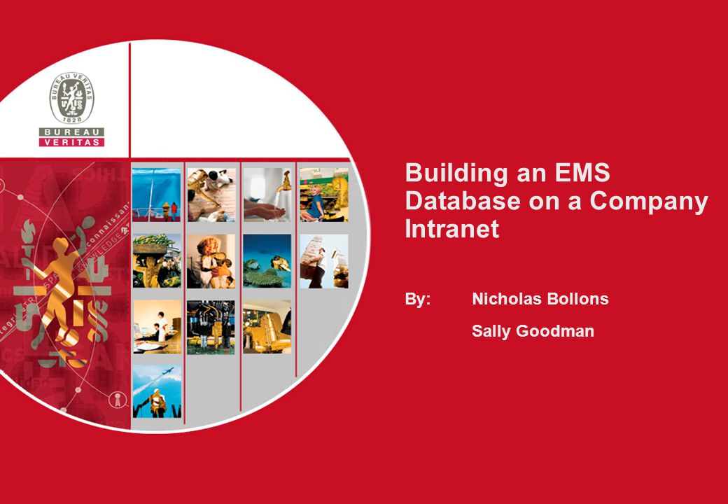 11 Building an EMS Database  System Design – Overview Intranet IT System EMS Proj Manager Client Office System Design – Stage 1 Front End – THE CLIENT Back End – EMS Managment Back Office Support IT / Doc Man The Users