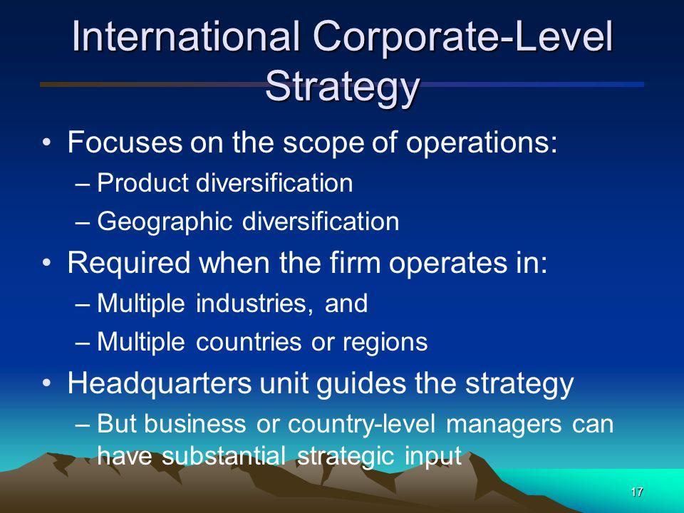 18 International Corporate- Level Strategies Figure 8.3