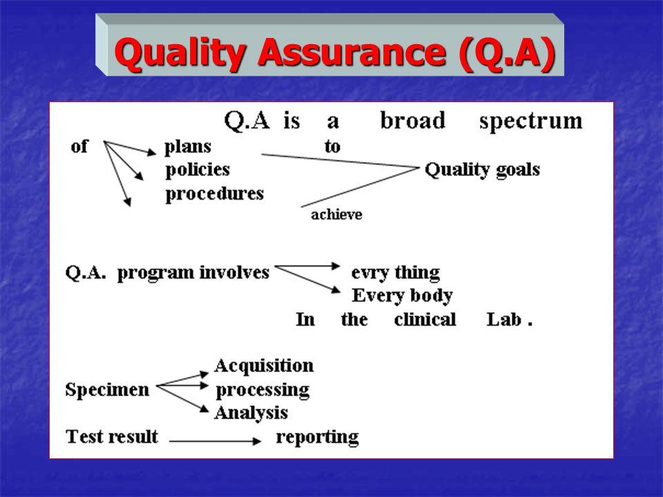 Quality Assurance (Q.A)