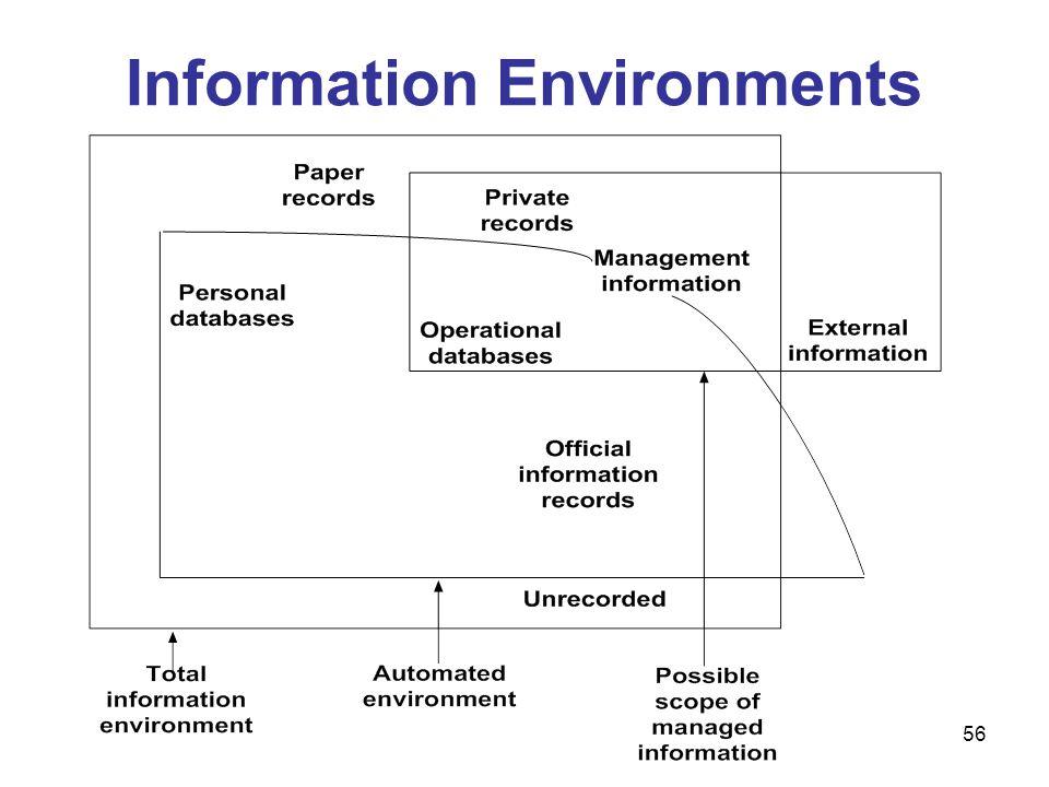 56 Information Environments