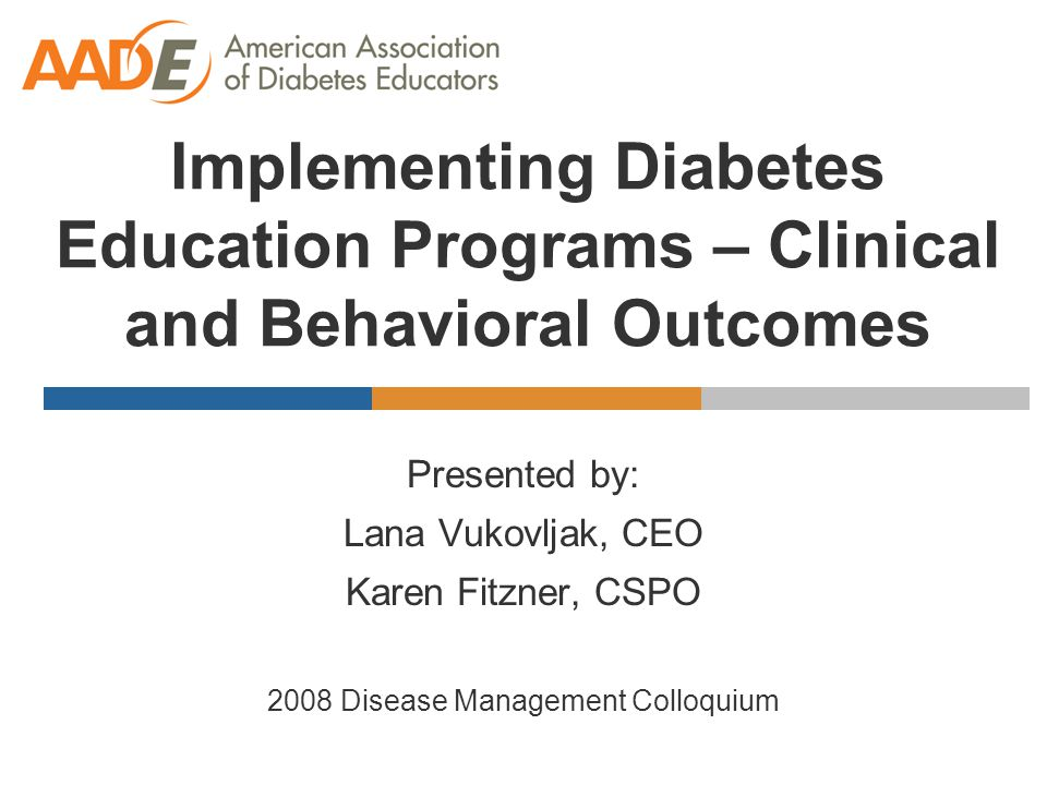 Implementing a Gestational Diabetes Education Program – Patient Tools Informational Kit  sample diet from 1800 calories to 2500 calories  infection control & home safety  insulin and step by step instructions on insulin administration  sharps disposal  hypoglycemia, hyperglycemia, signs and symptoms to report  glucose parameters  exercise  stages & phases of labor  infant nutrition  breastfeeding & bottle feeding tips  postpartum care Self-Management Kit  blood glucose meter  200 test strips  100 lancets  ketodiastix  1-measuring cup for food  exchange list  glucose tablets  A1C kit with the binder