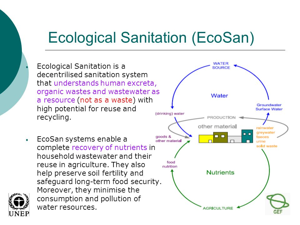 Type Kind of treatmentKind of wastewater treated AdvantagesDisadvantagesNutrients removal Septic Tanksedimentation, flotation and digestion Domestic wastewater (communities until 100 inhabitants) Simple, durable, easy maintenance, small area required Low treatment efficiency, necessity of a secondary treatment, effluent not odorless COD, BOD, TSS; grease.