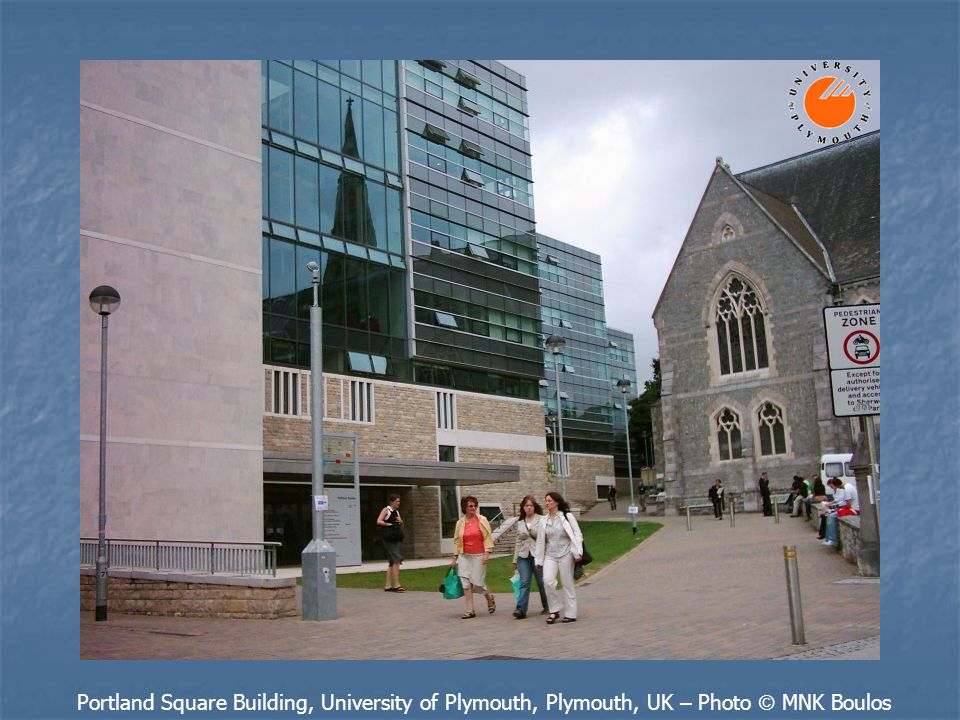 Portland Square Building, University of Plymouth, Plymouth, UK – Photo © MNK Boulos