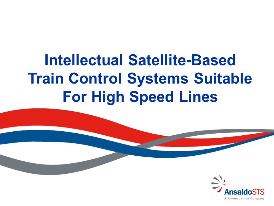 Intellectual Satellite-Based Train Control Systems Suitable For High Speed Lines