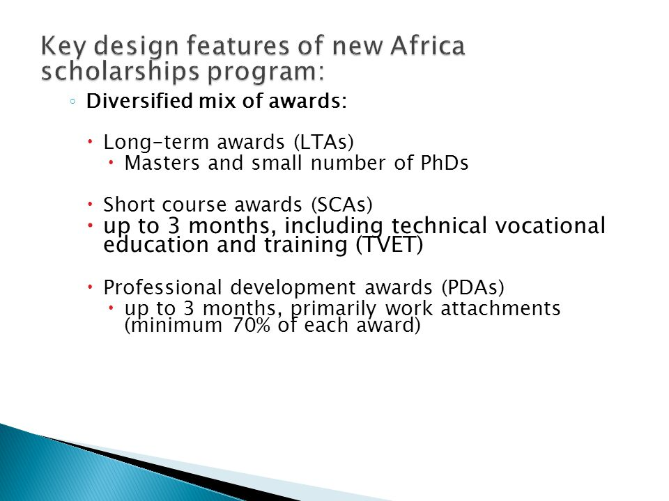  Organisational category  AFRICAN COMMERCIAL PRIVATE SECTOR ORGANISATIONS: Sector / themesub-sector focus Food SecurityAgriculture; Fisheries Natura