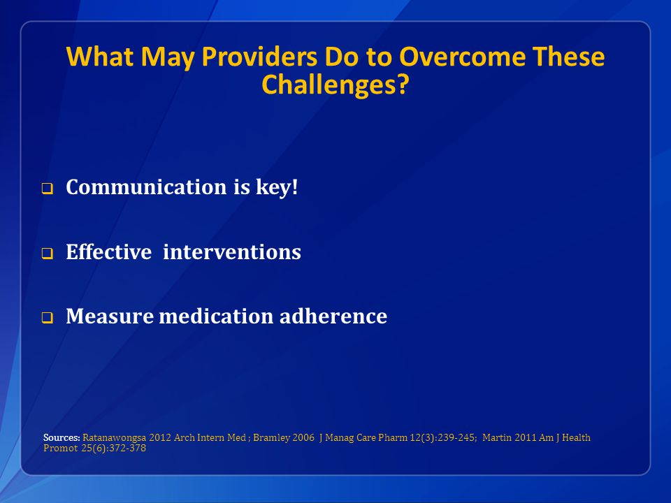 What May Providers Do to Overcome These Challenges.