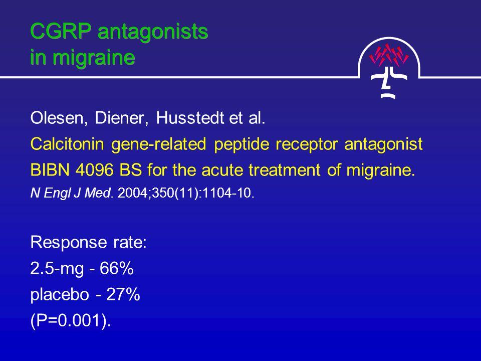 CGRP antagonists in migraine Olesen, Diener, Husstedt et al.
