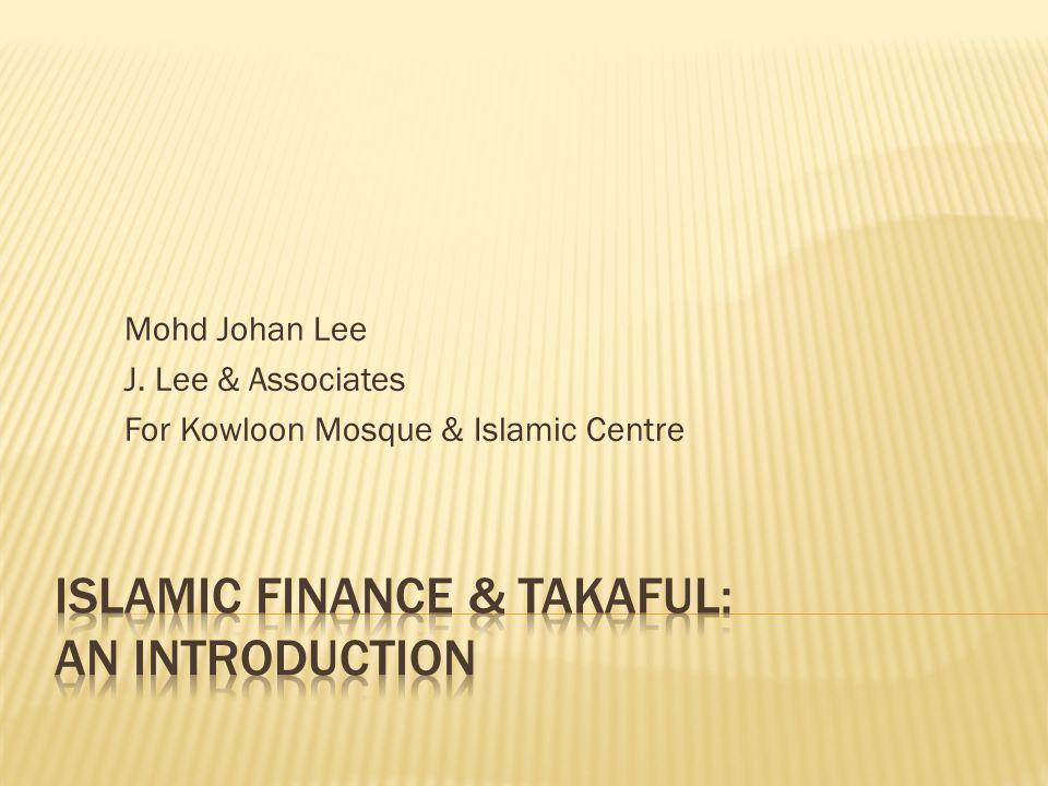 Mohd Johan Lee J. Lee & Associates For Kowloon Mosque & Islamic Centre