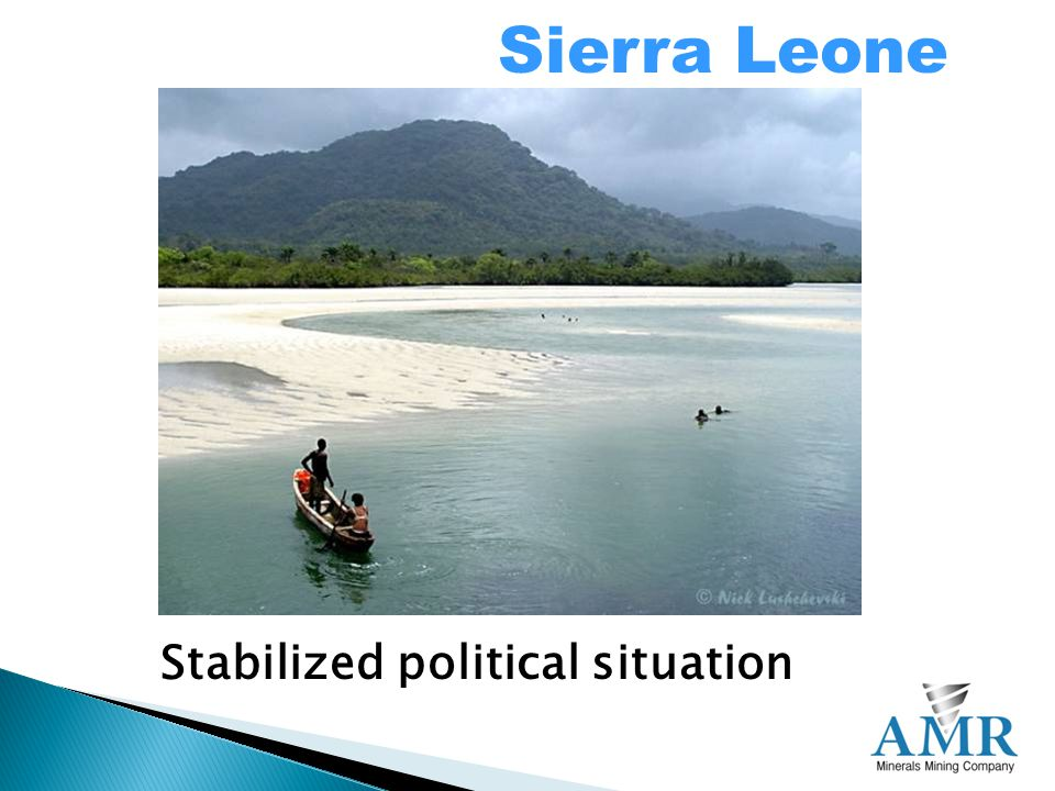 Sierra Leone Stabilized political situation