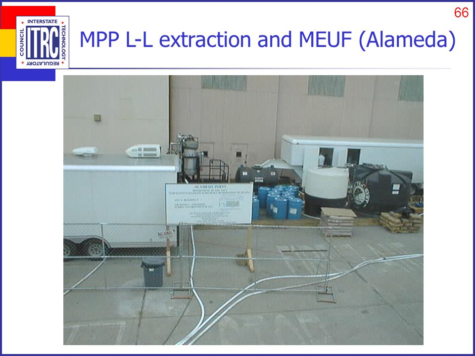 66 MPP L-L extraction and MEUF (Alameda)