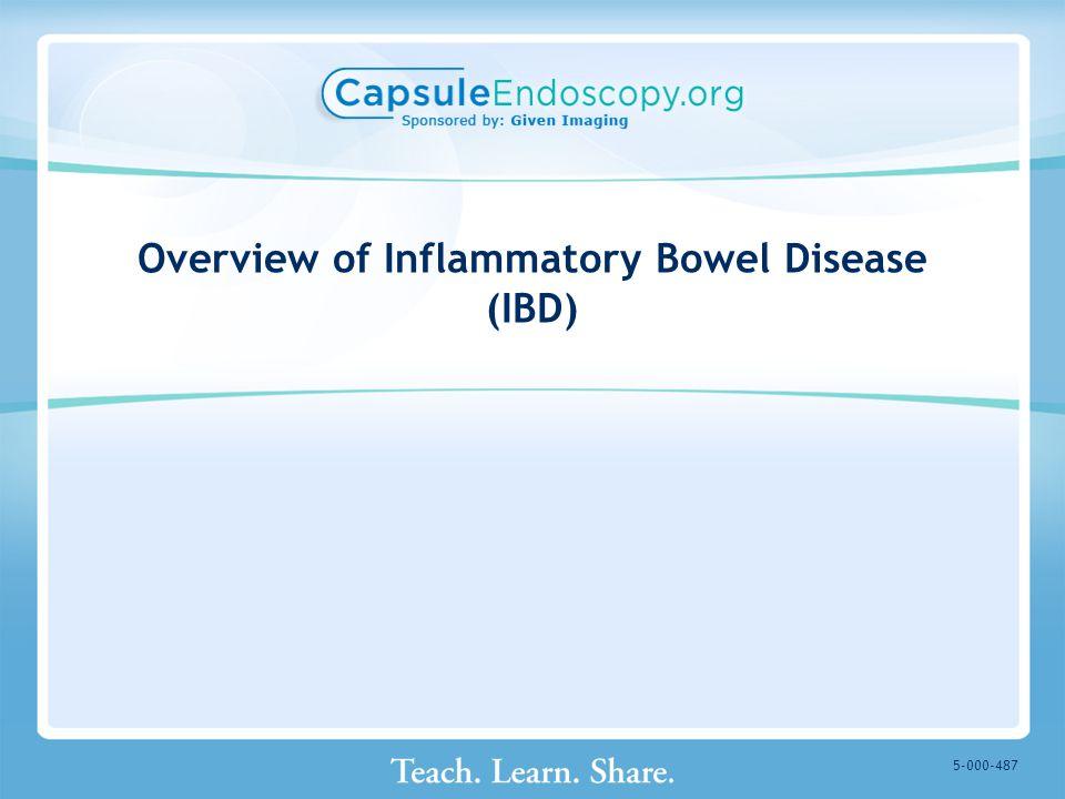 Overview of Inflammatory Bowel Disease (IBD) 5-000-487