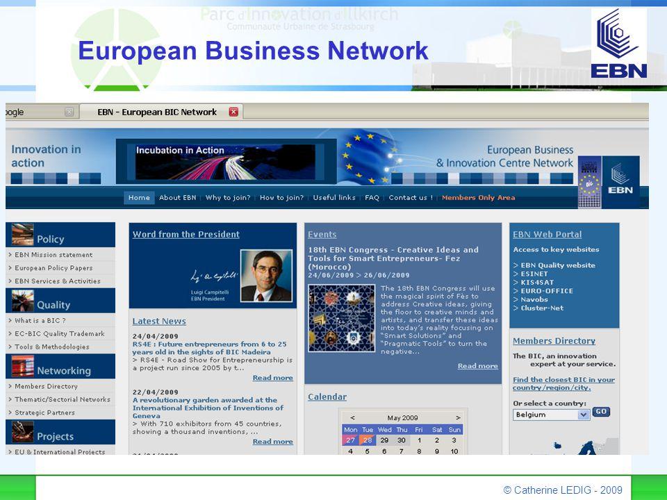 © Catherine LEDIG - 2009 European Business Network
