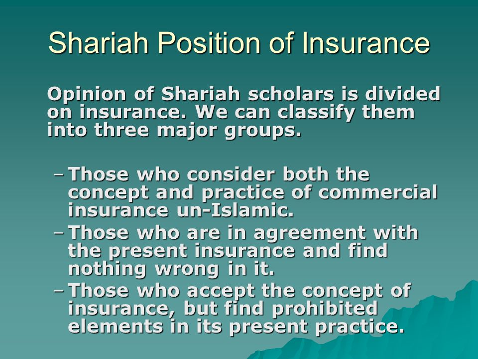Rulings of Collective Fiqhi Bodies about Insurance –Islamic Research Institute of Al-Azhar Uni.