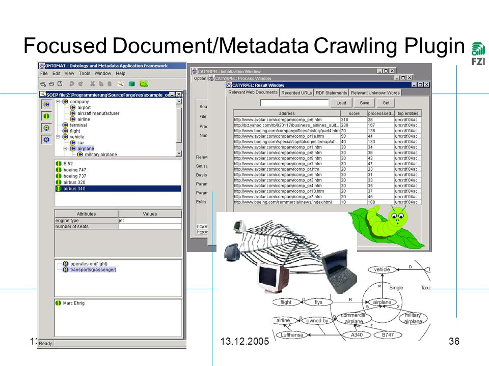 13.12.2005 36 Focused Document/Metadata Crawling Plugin …