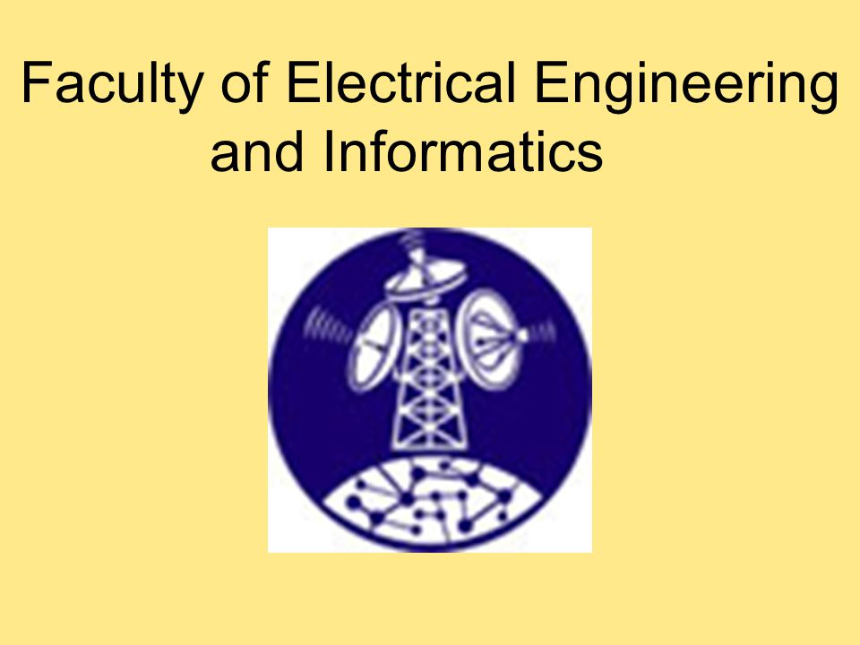 Faculty of Electrical Engineering and Informatics