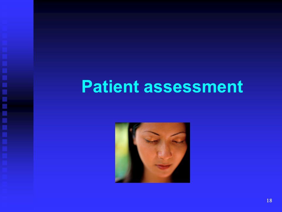 18 Patient assessment