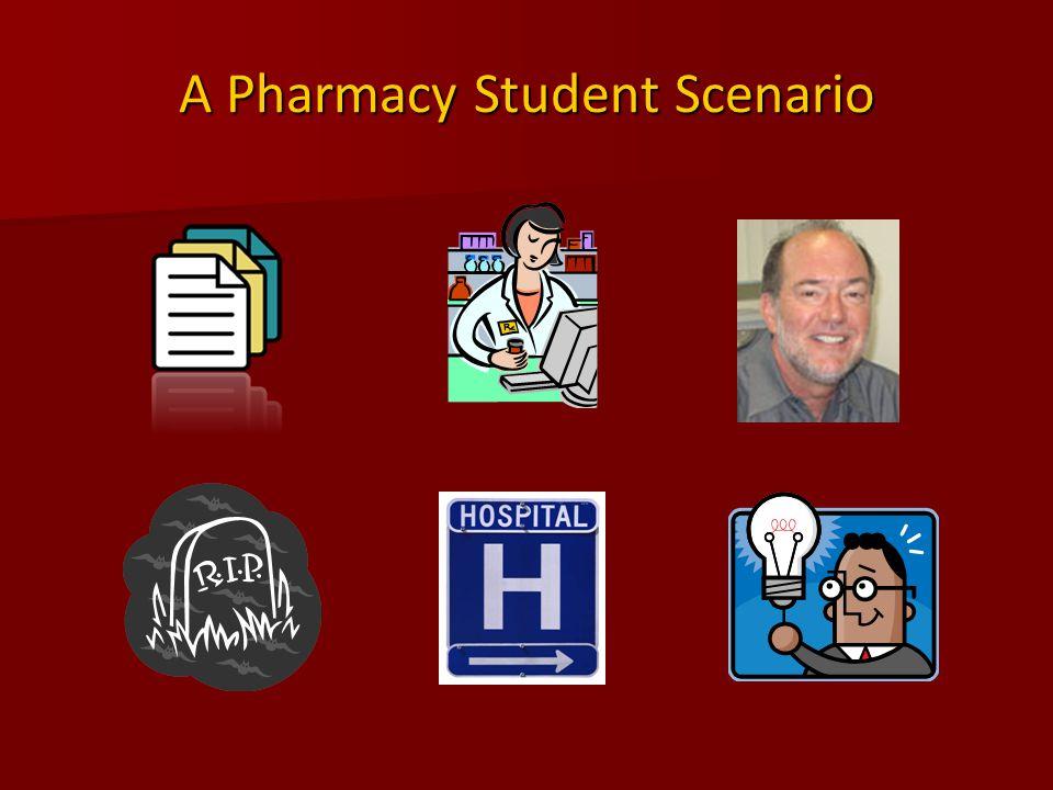 A Pharmacy Student Scenario