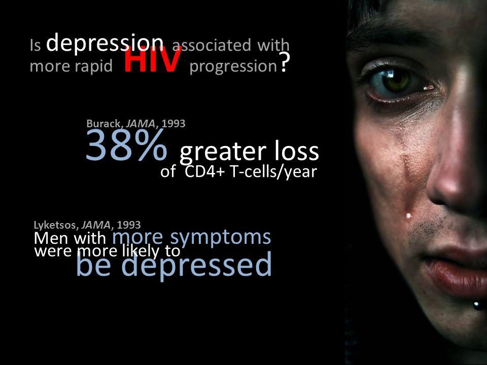 more rapid HIV progression .