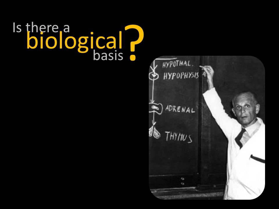 Is there a ? basis biological
