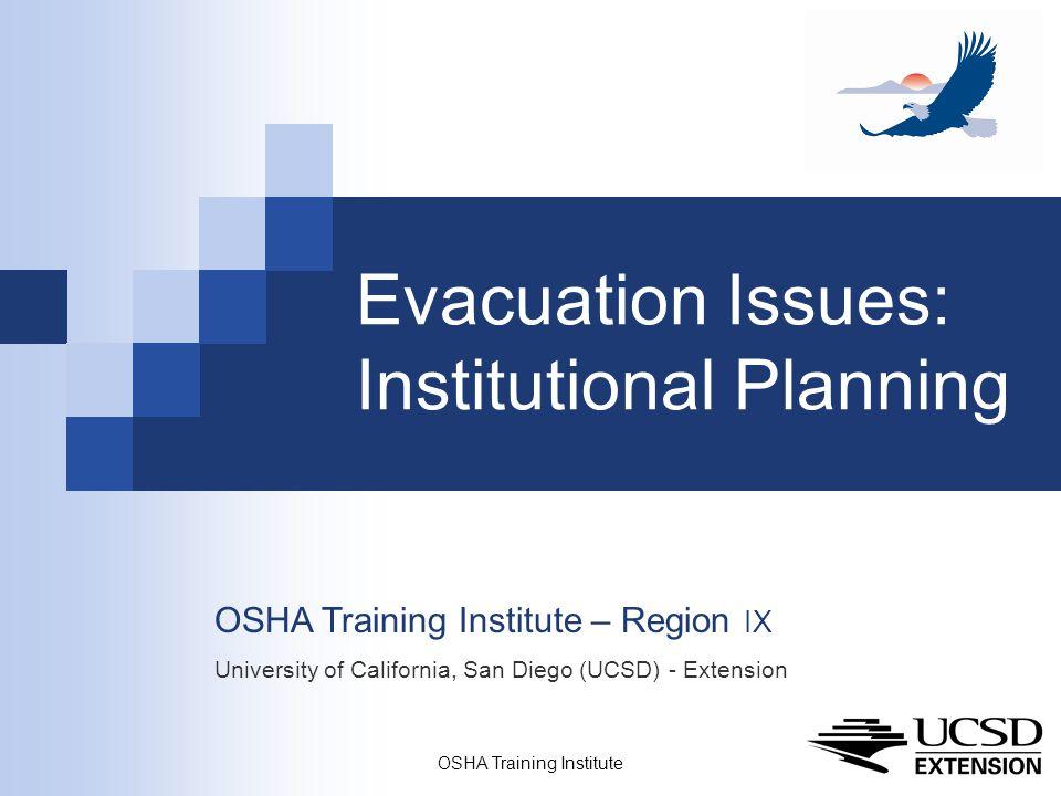 OSHA Training Institute32 References Norcross ED, et al.