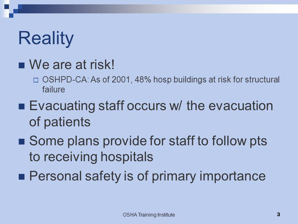 OSHA Training Institute34 References US Dept of Labor: OSHA.