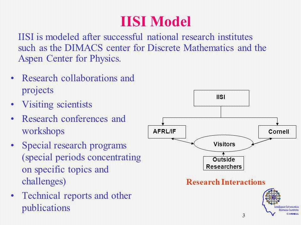 4 IISI Scientific Advisory Board Dr.