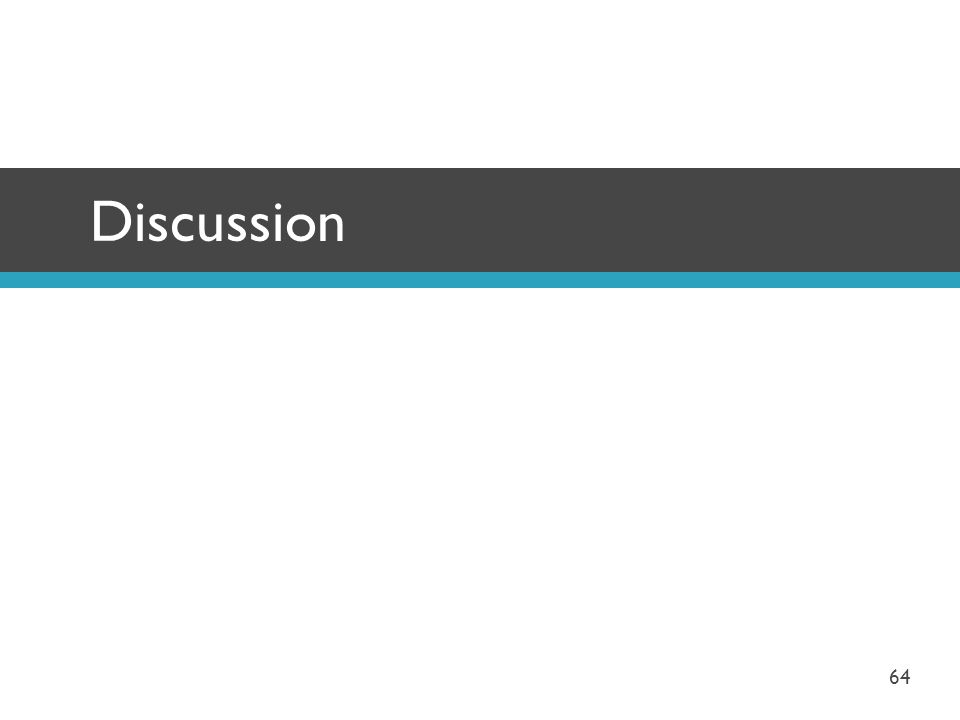 Discussion 64