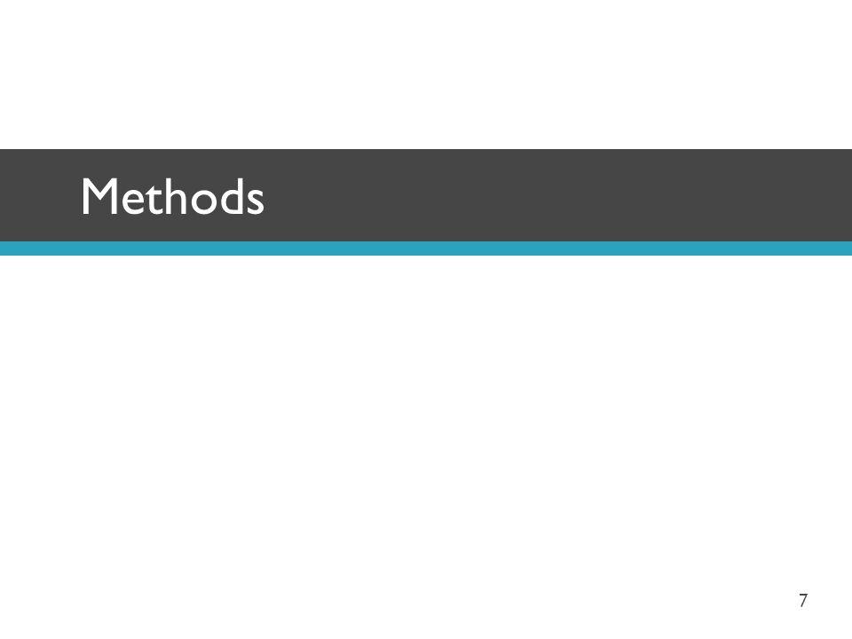 Methods 7