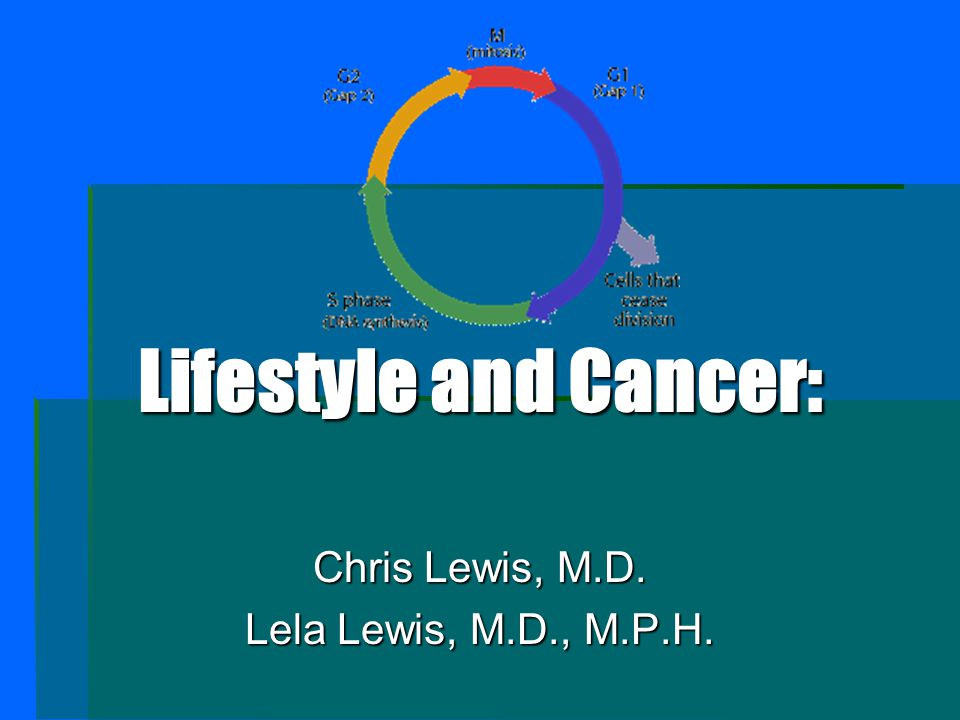 In summary: 1.Healthy choices in lifestyle can exhibit a great influence to decrease cancer incidence.