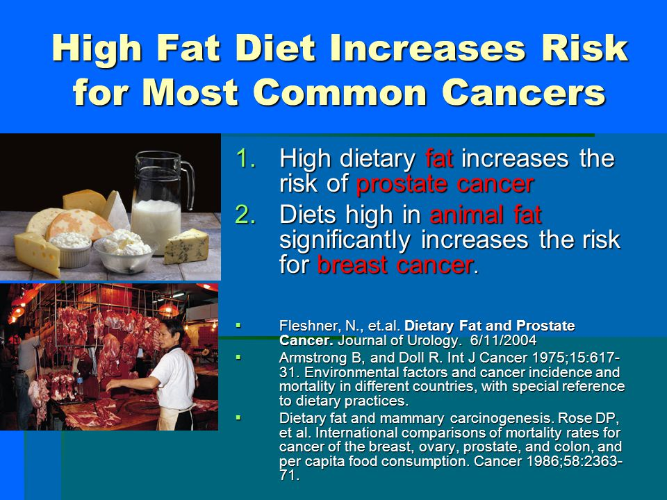 Western Diet increases Breast Cancer  Asian countries, such as Japan, have low rates of breast cancer, while Western countries have breast cancer rat