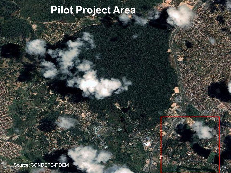 Source: CONDEPE-FIDEM Pilot Project Area
