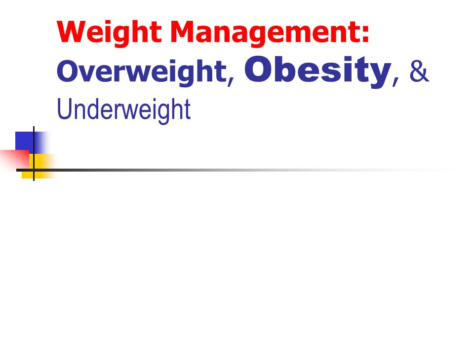 Weight-Loss Strategies Behavior and Attitude Behavior modification requires time and effort.