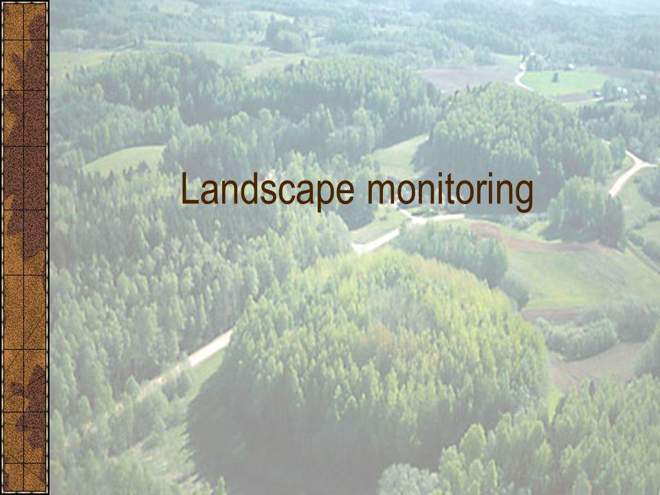 Landscape monitoring