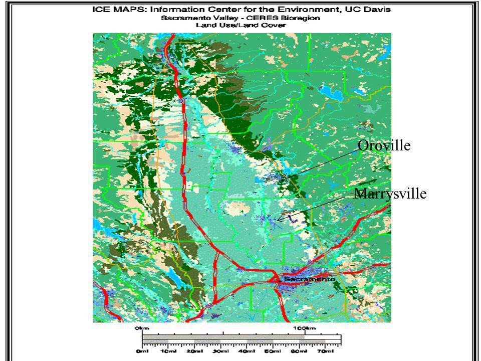Marrysville Oroville