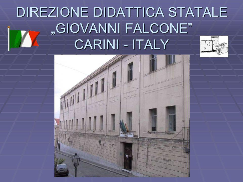 """DIREZIONE DIDATTICA STATALE """"GIOVANNI FALCONE CARINI - ITALY"""