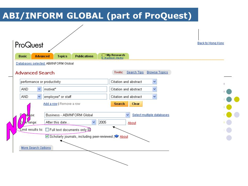 ABI/INFORM GLOBAL (part of ProQuest)