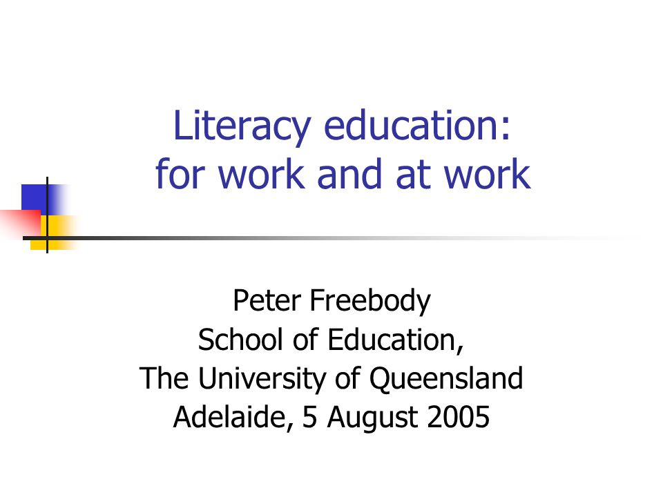 Future, multi-literacies Literacy refers to the flexible and sustainable mastery of a repertoire of practices with the texts of traditional and new communications technologies via spoken language, print and multi- media. (Luke, Freebody & Land, 2000)