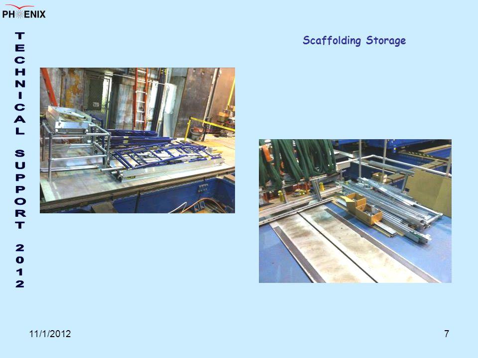 11/1/20127 Scaffolding Storage