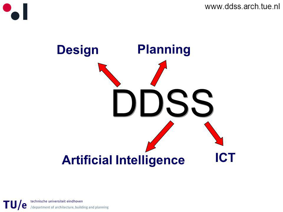 www.ddss.arch.tue.nl DDSS Design Planning Artificial Intelligence ICT