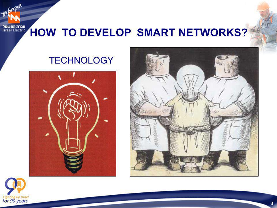 4 HOW TO DEVELOP SMART NETWORKS? TECHNOLOGY