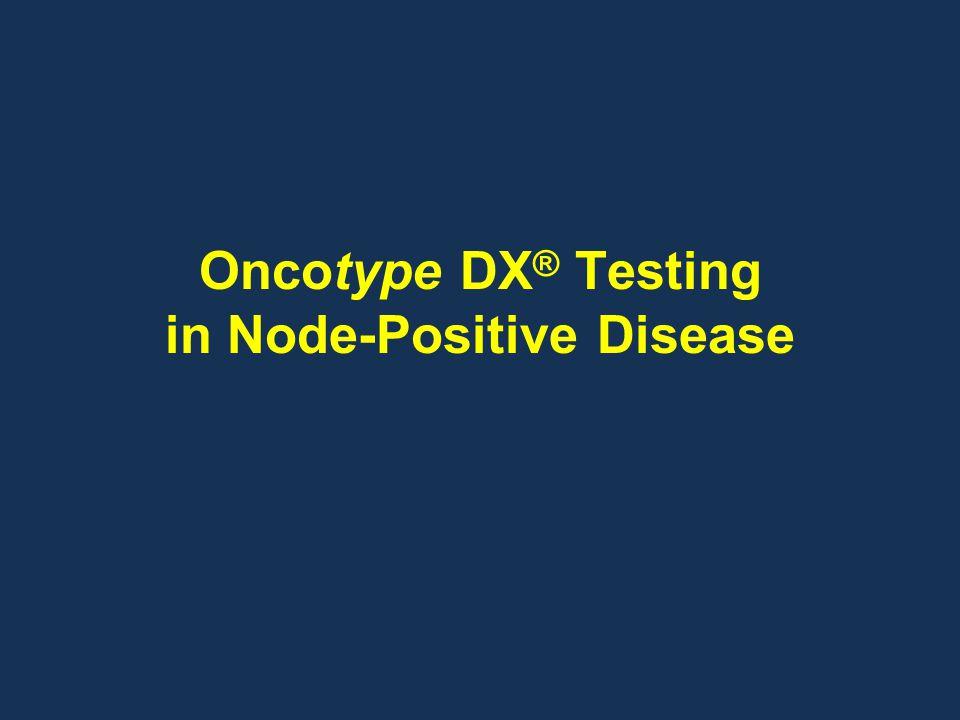 Oncotype DX ® Testing in Node-Positive Disease