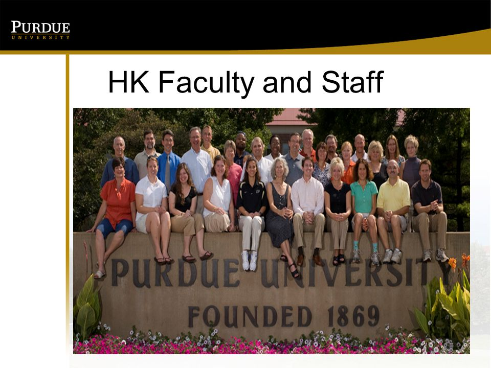 HK Faculty and Staff