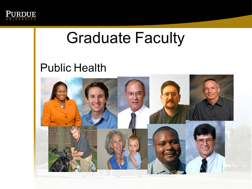 Graduate Faculty Public Health