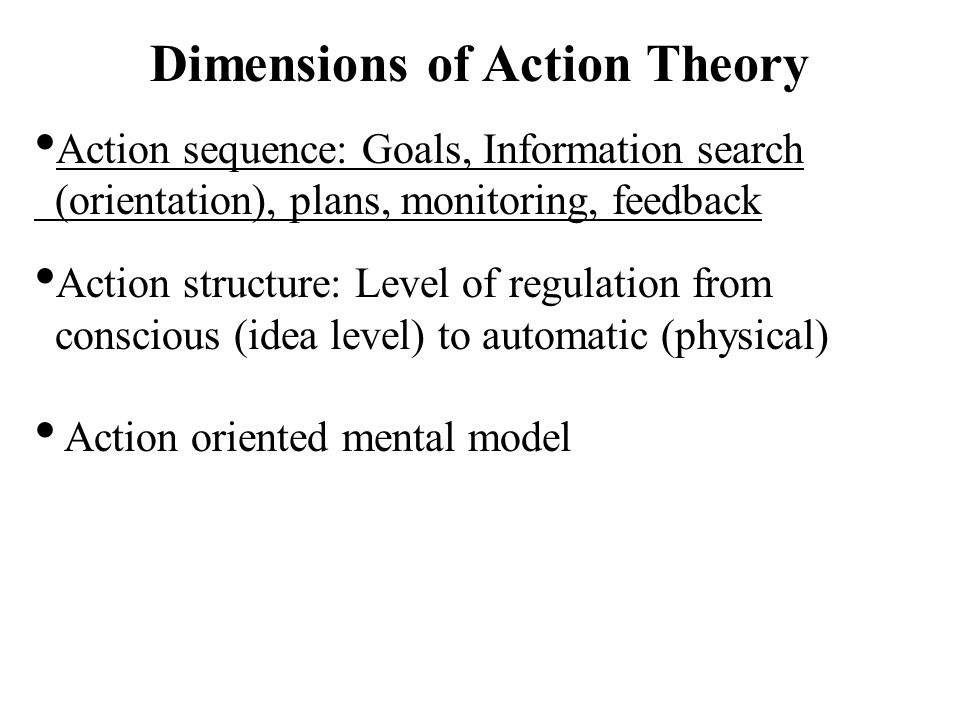 Crossing Sequence and Structure (Examples) Some theories more concerned with sequence and some more with structure.