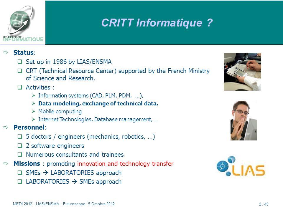 CRITT Informatique .