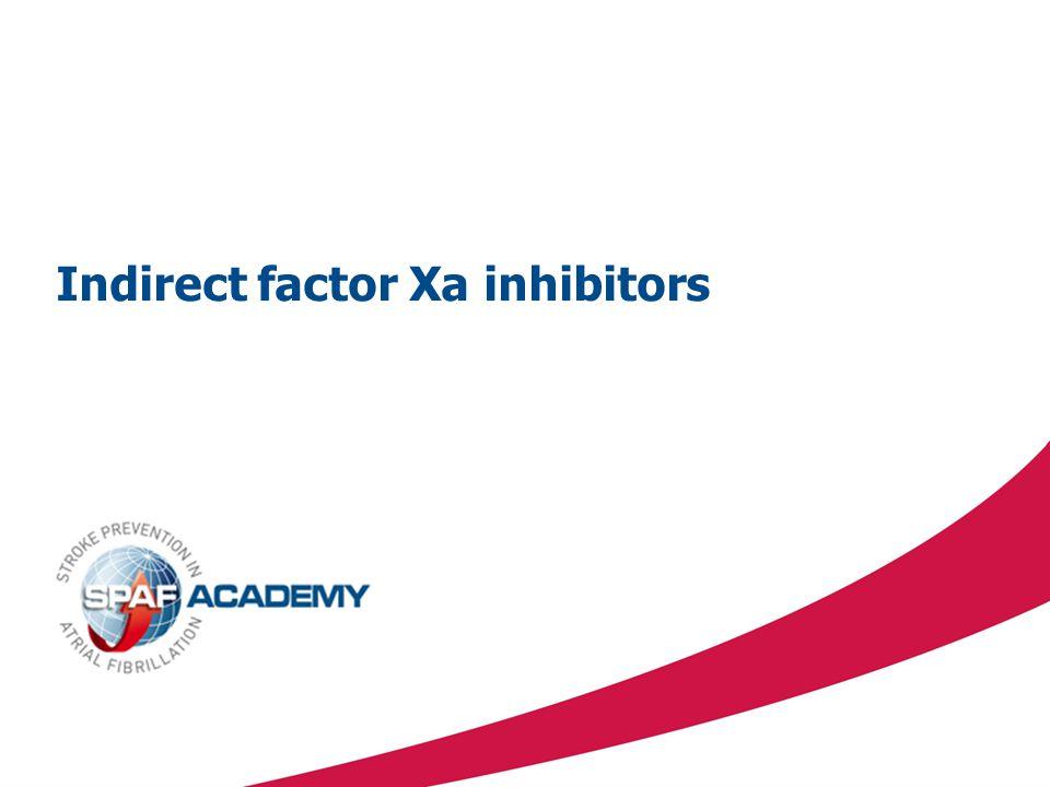 Indirect factor Xa inhibitors