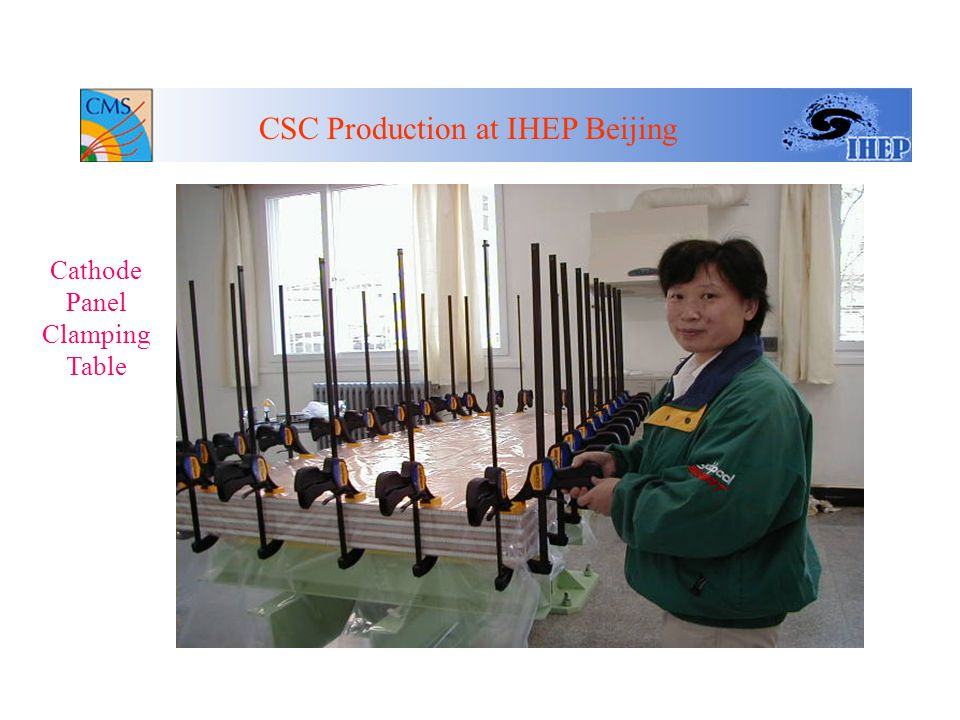 Conclusion CSC Production at IHEP Beijing Capacitance Measure set up