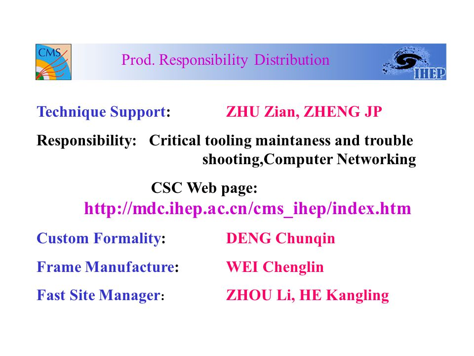 Process Engineer: WANG Lingshu Responsibility: 1.Traveler and documents updating and translating 2.Engineering Drawing update 3.Prod.Process arrangement 4.Parts distribution 5.Record Discrepancies Prod.
