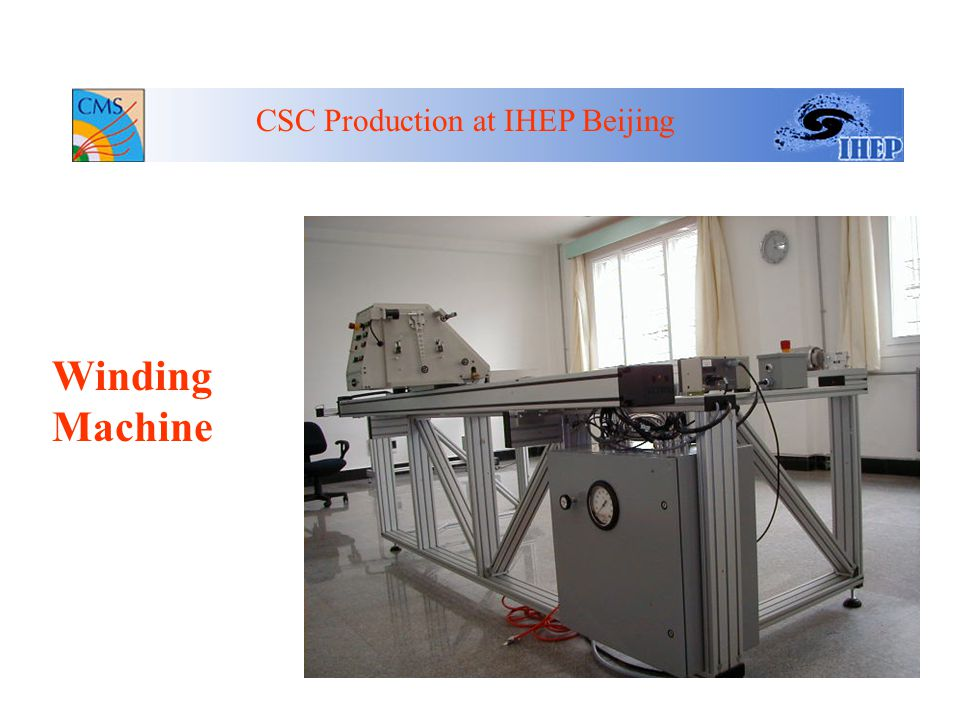 CSC Prod. Milestones at IHEP Oct.2000-Mar.2001,Prod.Clean Lab construction Mar.29,2001 Critical tooling arrived at IHEP Apr.1-30,2001 Tooling set up a
